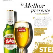 Mercadinhos São Luiz e Stella Artois lançam promoção