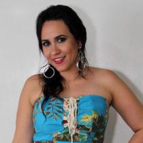 Leyla Diógenes é a nova apresentadora do Forrobodó