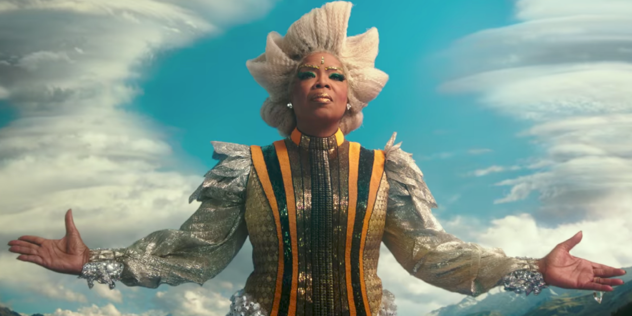 Oprah em Uma Dobra no Tempo