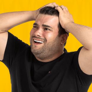 """Rafael Cunha apresenta seu Stand-up Comedy """"Casem, é ótimo!"""""""
