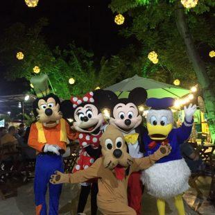 Turma do Mickey anima programação infantil no Imprensa Café