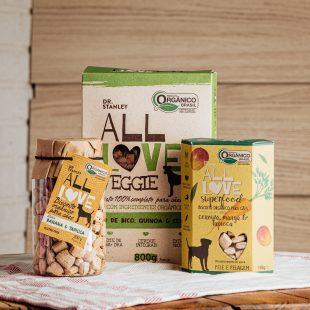 Mercado Vida Saudável conta com produtos veganos para pets