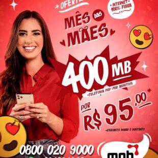 MOB Telecom lança campanha especial para o Dia das Mães